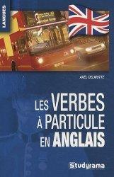 Les verbes à particule en anglais