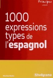 Les 1000 expressions type de l'espagnol