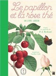 Le papillon et la rose thé