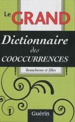 Le grand dictionnaire des cooccurrences