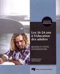 Les 16-24 ans à l'éducation des adultes