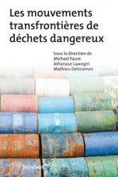 Les mouvements transfrontières de déchets dangereux