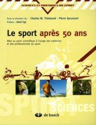 Le sport après 50 ans