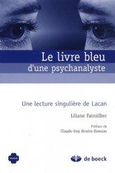 Le livre bleu d'une psychanalyste