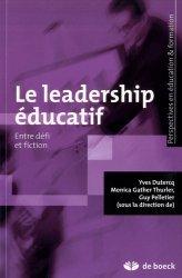 Le leadership éducatif, entre défi et fiction