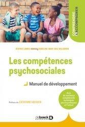 Les compétences psychosociales - Manuel de développement