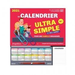 Le calendrier ultra simple et maxi compact pour une famille organisée. Edition 2021