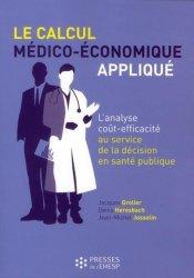 Le calcul médico-économique appliqué