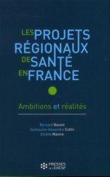 Les projets régionaux de santé en France