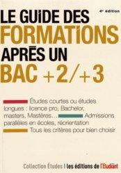 Le guide des formations après un bac +2/+3