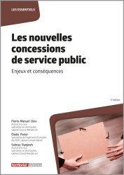 Les nouvelles concessions de service public