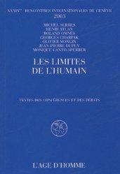 Les limites de l'humain