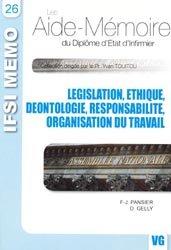 La couverture et les autres extraits de Législation Éthique Déontologie