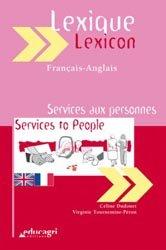 Lexique Français-Anglais Services aux personnes