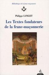 Les Textes fondateurs de la franc-maçonnerie