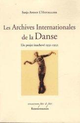 Les Archives Internationales de la Danse