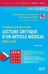 La couverture et les autres extraits de Référentiel collège de Médecine interne