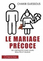 Le mariage précoce