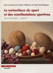 La couverture et les autres extraits de Droit du sport. 3e édition