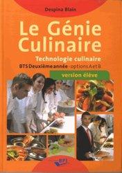 Le génie culinaire - BTS 2ème année - Elève