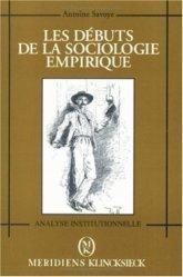 Les débuts de la sociologie empirique