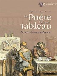 Le poète face au tableau. De la Renaissance au Baroque