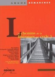 Les chemins de la littérature au cycle 3
