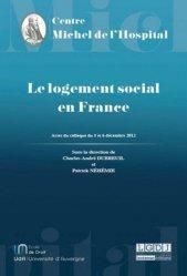 Le logement social en France. Actes du colloque