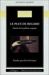 Le plus de regard. Destins de la pulsion scopique : étude psychanalytique.