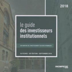 Le guide des investisseurs institutionnels