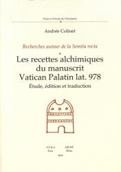 Les recettes alchimiques du manuscrit Vatican Palatin lat.978