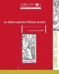 Les Cahiers poitevins d'Histoire du droit N° 4