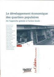 Le développement économique des quartiers populaires