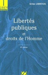 Libertés publiques et droits de l'Homme. 8e édition