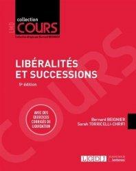 Liberalités et successions
