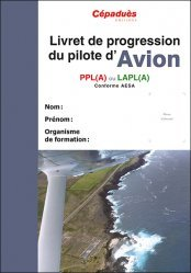 Livret de progression du pilote d'avion PPL(A) LAPL(A)
