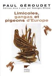 Limicoles, gangas et pigeons d'Europe