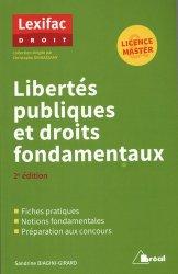 Libertés publiques et droits fondamentaux. 2e édition