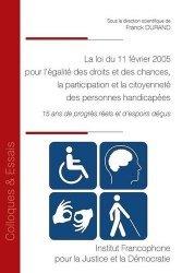 Loi du 11 février 2005 pour l'égalite des droits et des chances, participation