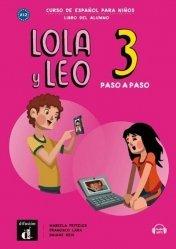 Lola y Leo paso a paso 3. Livre de l'élève