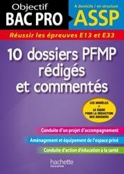 10 dossiers PFMP rédigés et commentés