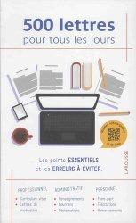 La couverture et les autres extraits de La correspondance commerciale française