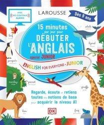 15 minutes par jour pour débuter l'anglais spécial junior