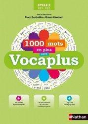 1000 mots en plus avec Vocaplus Cycle 2 CE1-CE2