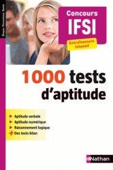 La couverture et les autres extraits de Le tout-en-un des tests d'aptitude - Concours IFSI