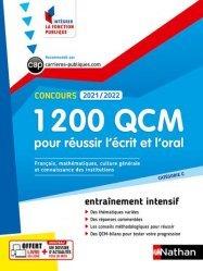 1 200 QCM pour réussir l'écrit et l'oral