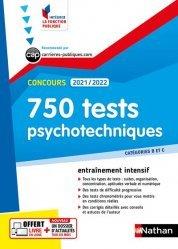 750 tests psychotechniques Concours Catégories B et C
