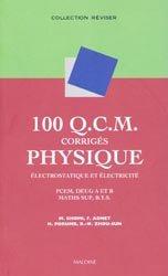 100 QCM corrigés Physique