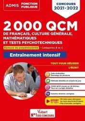 2000 QCM de Français, Culture générale, Mathématiques et Tests psychotechniques