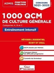 1000 QCM de culture générale Catégories A, B et C